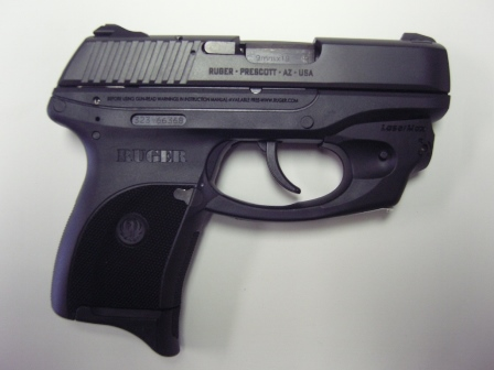 Ruger LC9 Semi Auto 9 mm w/LaserMax for sale