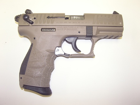 Walther P22 .22 cal semi auto for sale