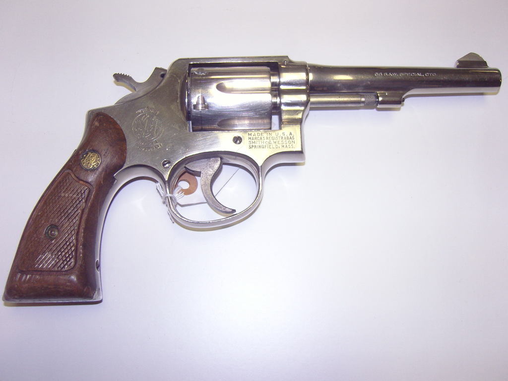 Smith & Wesson Model 10 Revlover 38 caliber for sale