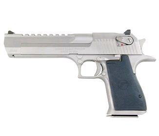 Magnum Research Desert Eagle 50 AE Satin Nickel