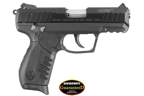 Ruger SR 22 semi auto handgun