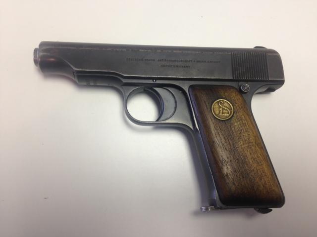 Deutsche Werks caliber 7.65